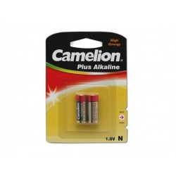 Pack de 2 piles «Alcaline Plus » LR1 Lady Camelion
