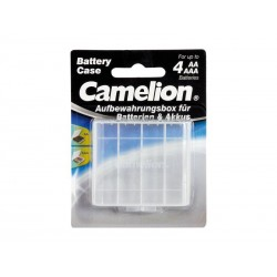 Boîte de rangement pour piles AA/AAA Camelion