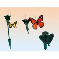 Papillon Solaire pour Pot de Fleurs