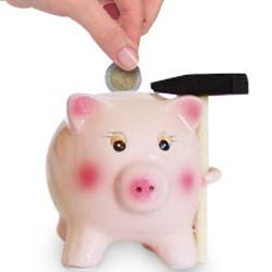 Tirelire Cochon Céramique avec Marteau