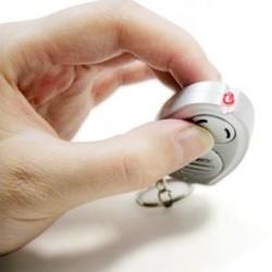 Porte Clé Anti Moustique Mosquito Keychain