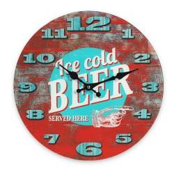 Horloge Murale Ice Cold Beer