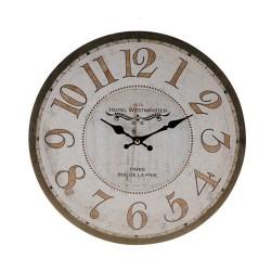 Horloge Murale Antique Vintage Coconut