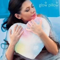Coussin lumineux Cœur Glow Pillow