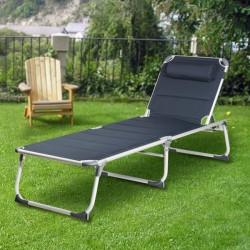 Chaise Longue Pliante Campart Travel BE0637