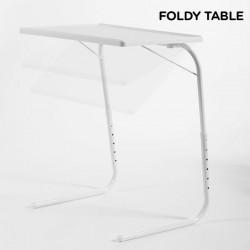 Table Pliante avec Dessous de Verre Foldy Table