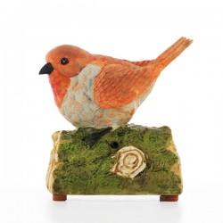 Oiseau Décoratif avec Son et Détecteur de Mouvement