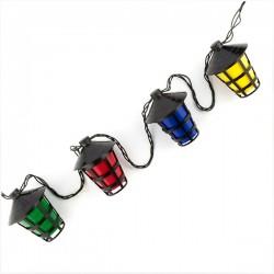 Guirlande LED Lampions