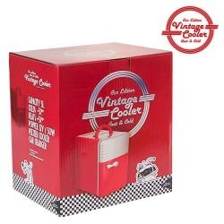 Réfrigérateur Vintage Cooler 5 l Retro