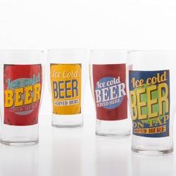 Verre de bière Ice Cold Beer