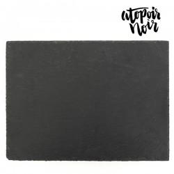Dessous-de-plat en Ardoise Atopoir Noir