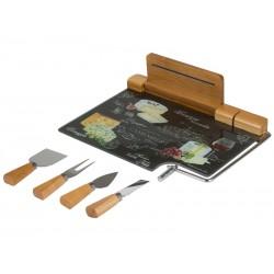 Planche à découper fromage 5 pièces - Collection Kitchen's Deco