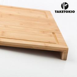 Planche à Découper en Bambou pour Plan de Travail TakeTokio