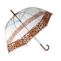 Parapluie Cloche Léopard