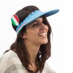 Visière Drapeau de l'Italie