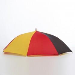 Parapluie-Chapeau Drapeau de l'Allemagne