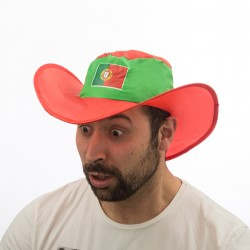 Chapeau Pliable Drapeau du Portugal