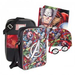 Sac à dos pour Piscine Avengers (4 pièces)
