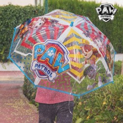Parapluie Bulle Bleu Transparent La Patrouille Canine