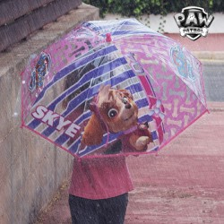 Parapluie Bulle Transparent Rose La Patrouille Canine