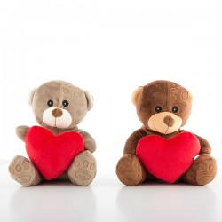 Petit Ours en Peluche avec Coeur