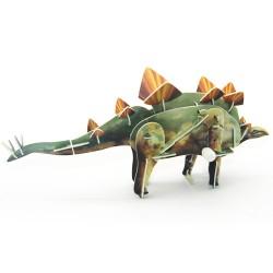 Puzzle 3D Dinosaure avec Mouvement