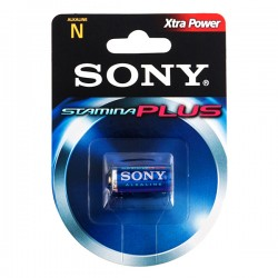 Pile Alcaline Plus Sony N LR1 d'1,5V AM5