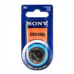 Pile bouton au Lithium Sony CR2450 3V