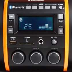 Station d'Accueil Super Radio MP3 Bluetooth AudioSonic RD1549