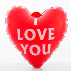Coeur Gonflable I Love You