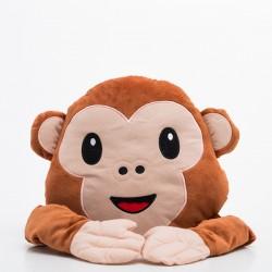 Coussin émoticône Monkey