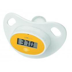 Tétine-thermomètre numérique Clatronic FT 3618 - blanc/jaune
