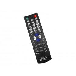 Télécommande universelle EAXUS TV pour maxi 10 appareils (Noir)