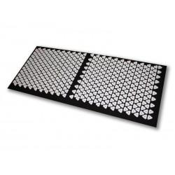 Tapis d\'acupression Shanti (120 x 50 cm. Noir)