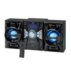 Système audio Bluetooth avec CD/MP3/USB/BT AEG MC 4465 BT (Noir)