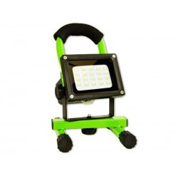 Spot halogène rechargeable 8 watts LED Arcas (Vert)