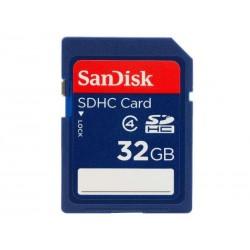 SDHC 32Go SanDisk CL4 - Sous blister