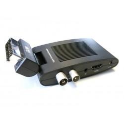 Récepteur Péritel TV DVB-T2 (avec port HDMI)