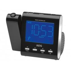 Radio-réveil projecteur AEG MRC 4122 F N - Noir
