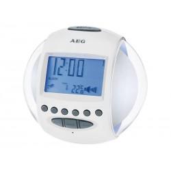 Radio-réveil AEG MRC 4117 - Blanc