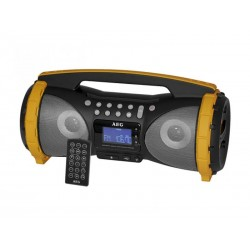 Radio stéréo Soundbox SR 4367 BT AEG AUS/BT/USB Gris/Jaune
