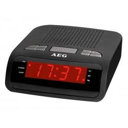 Radio réveil MRC 4142 AEG noir
