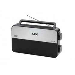 Radio portable/transistor AEG TR 4152 - Argenté/noir