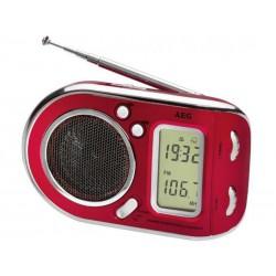 Radio multi-fréquences AEG WE 4125 - Rouge
