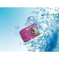 Easypix W1024 Splash - Appareil photo numérique étanche (rose)