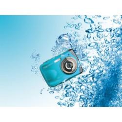 Easypix W1024 Splash - Appareil photo numérique étanche (bleu)