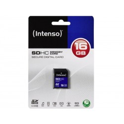 Intenso SDHC 16GB CL4 - Sous Blister