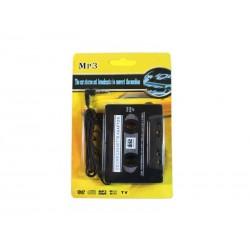Adaptateur voiture Cassette pour lecteur MP3/CD