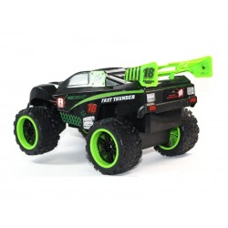4x4 RC Off-Road Cross Country 4 canaux (Noir-vert )-1325-1A
