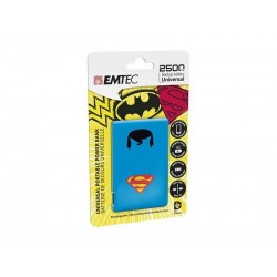 EMTEC Power Bank 2500mAh Justice League (Superman)
